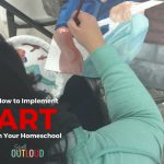 How to Implement Art in Your Homeschool Curriculum