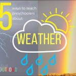 5 ways to teach preschoolers about weather