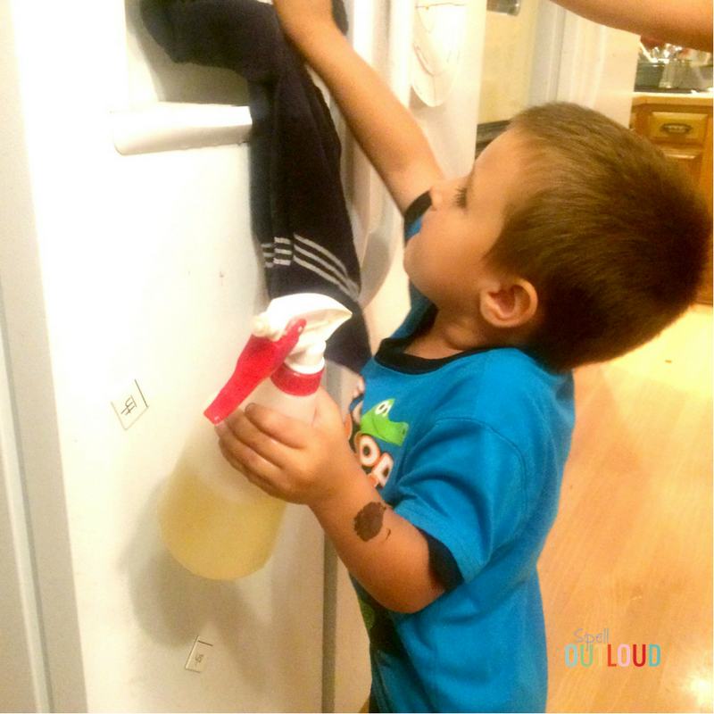 Safe Cleaning With Kids