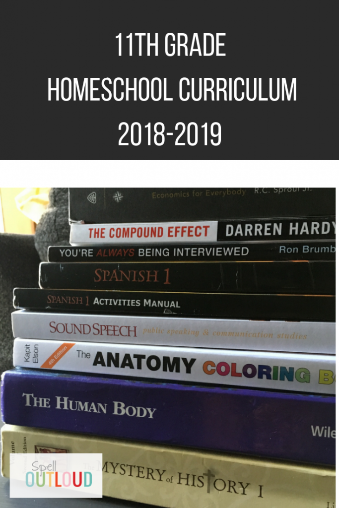 11th Grade Homeschool Curriculum